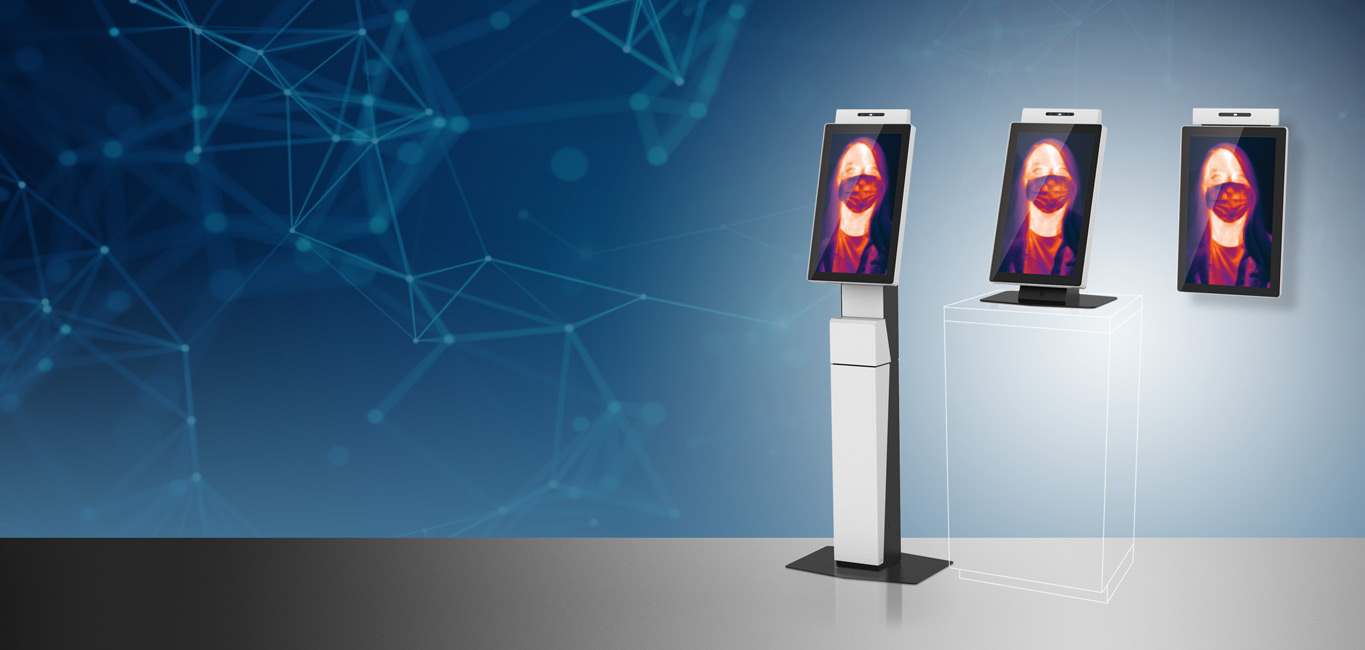 temperature screening kiosks